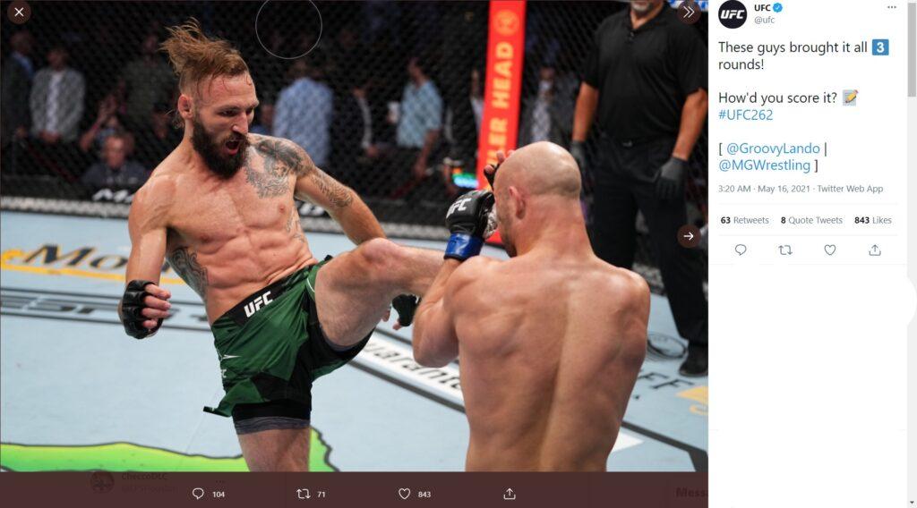 UFC 262 - Lando Vannata