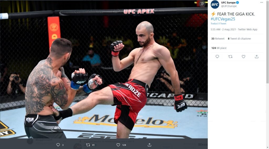 UFC on ESPN 23 - Giga Chikadze