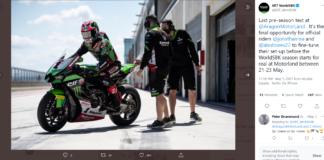 superbike test aragon