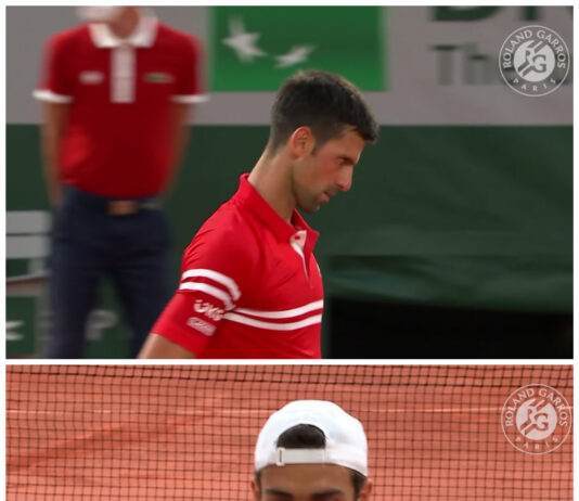 Parigi: un nervoso Djokovic