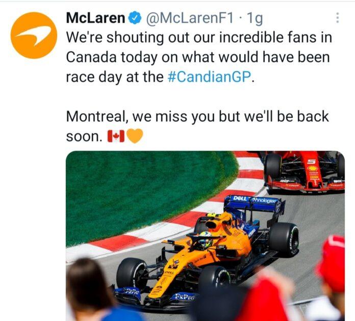 McLaren Brown