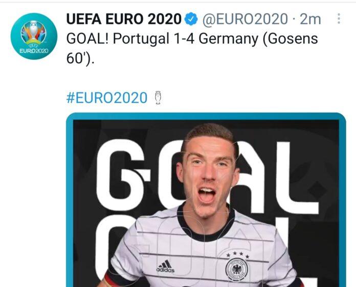 Portogallo-Germania 2-4