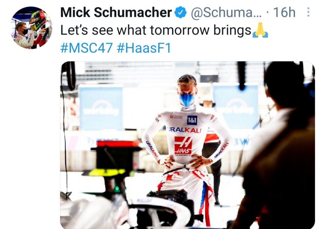 Mazepin Schumacher