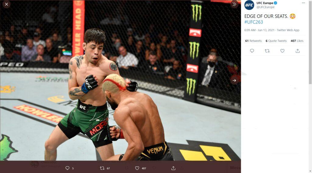 UFC 263 - Brandon Moreno