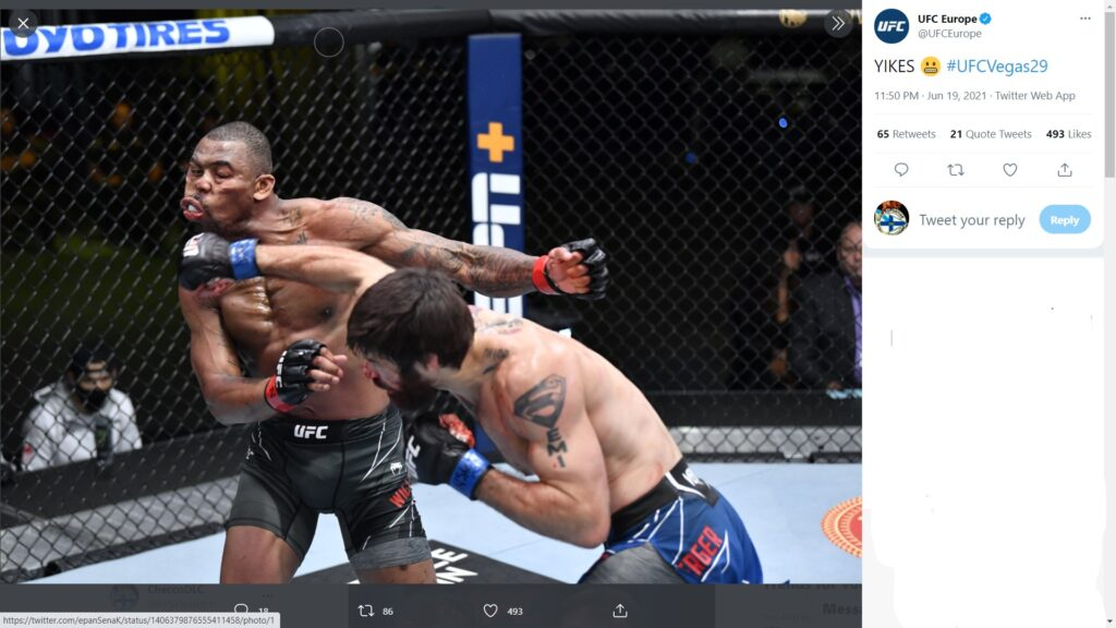 UFC on ESPN 25 -  Khaos Williams Vs Matthew Semelsberger
