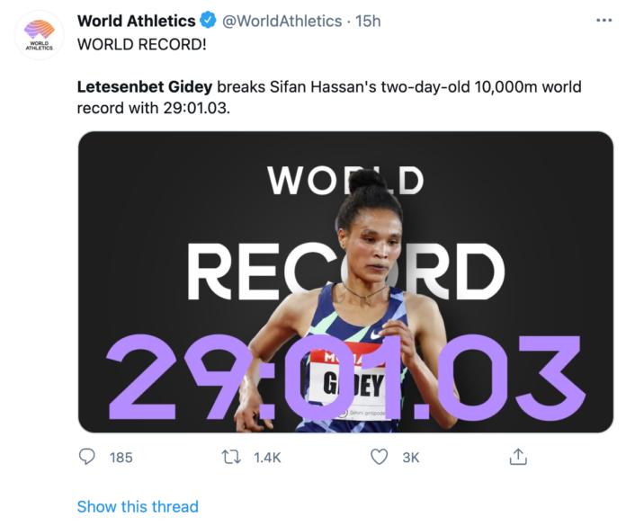record del mondo