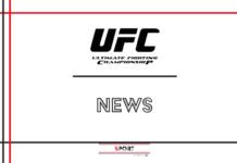 UFC: le ultime novità sui match