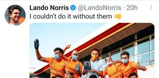 Gp Silverstone Norris