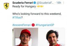 Gp Ungheria Ferrari