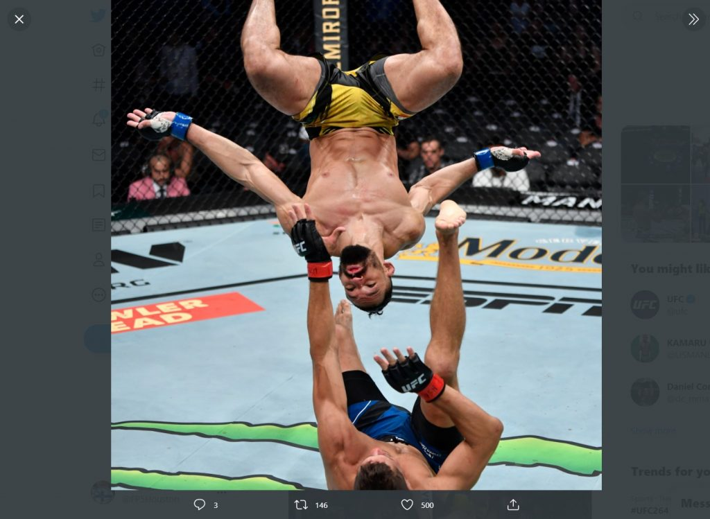 UFC 264 - Michel Pereira