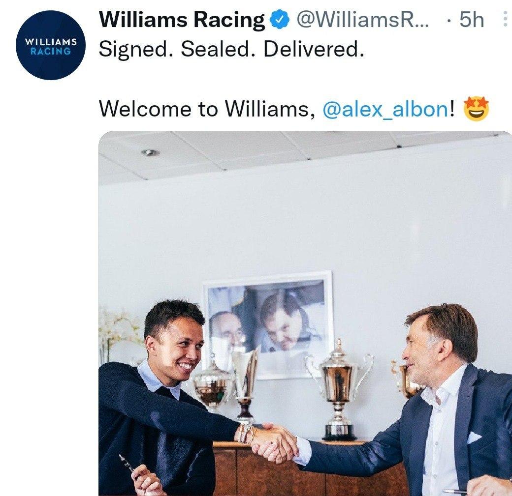 Williams Albon