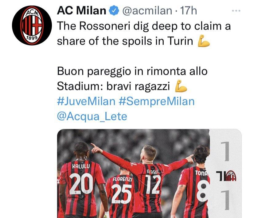 Milan assenze